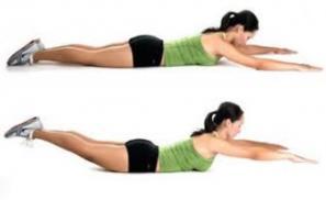 olahraga mengecilkan perut dengan back up