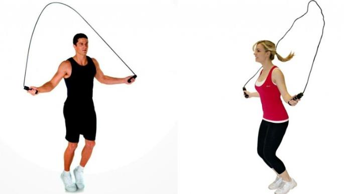 olahraga mengecilkan perut dengan lompat tali