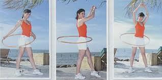olahraga mengecilkan perut dengan hula hoop