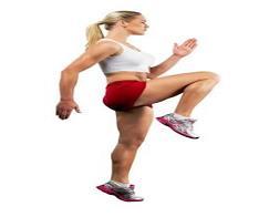 olahraga mengecilkan perut dengan gerakan lari di tempat