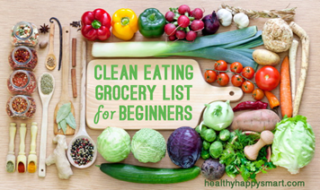 jenis diet clean eating