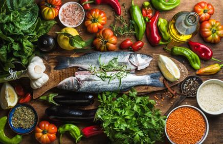 jenis diet mediterania