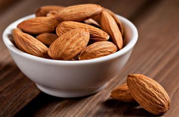 diet karbohidrat menu kacang almond
