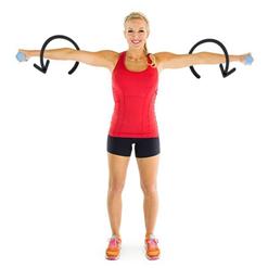 Cara mengecilkan tangan dengan olahraga arm circle