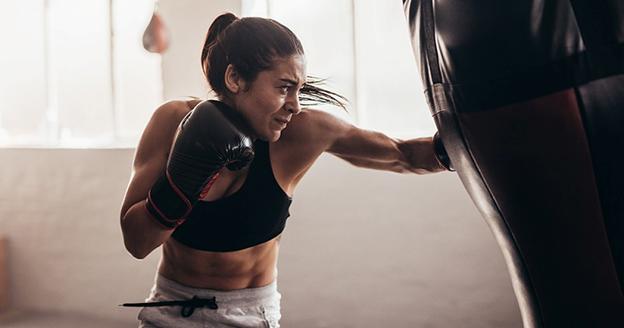 Cara mengecilkan tangan dengan olahraga boxing