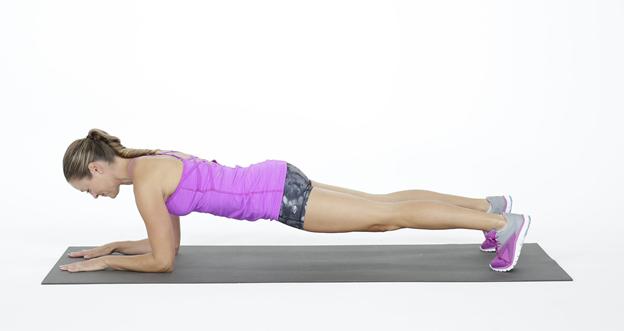 Cara mengecilkan tangan dengan olahraga plank