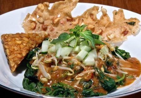 diet karbohidrat menu sayur pecel