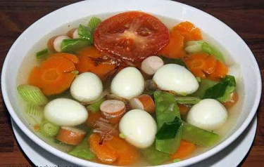 diet karbohidrat menu sop sayuran