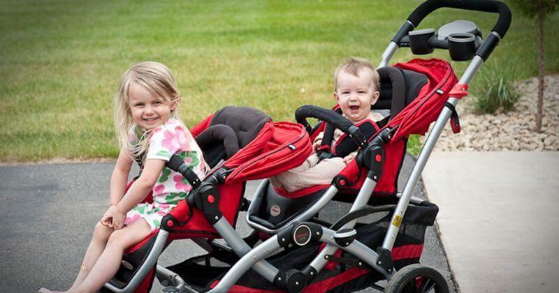 stroller bayi kembar