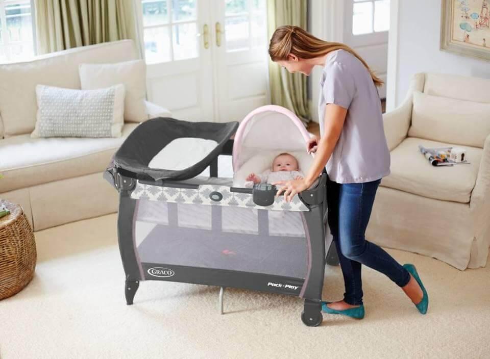 tempat tidur bayi merek Graco Pack 'N Play