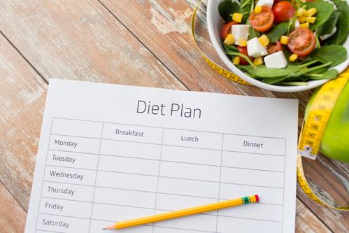 jadwal diet seminggu