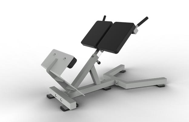 pengecil paha hyper extension bench