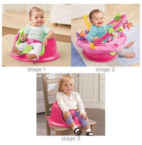 kursi bayi Summer Infant Island Giggles Deluxe Super Seat