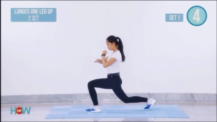 gerakan untuk mengecilkan perut