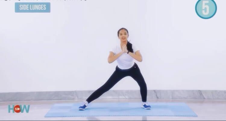 gerakan senam mengecilkan perut paha dan lengan