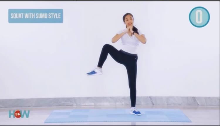 gerakan mengecilkan perut buncit