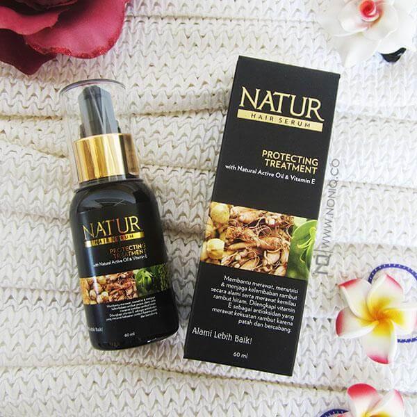 vitamin rambut rontok alami natur hair serum